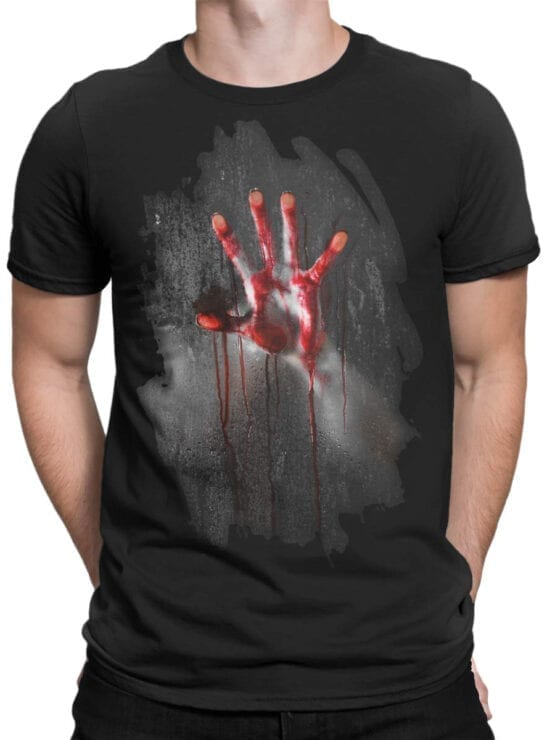 "0007 Horror T-Shirt ""Inside"" 2"