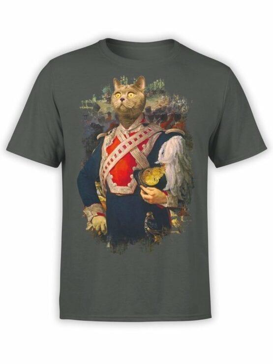 0012 Cat Shirts Colonel Du Cat