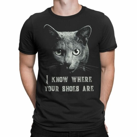 "Cat Shirts ""Threat from Cat""."