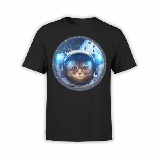 "Cat Shirts ""Space Cat"". T-Shirts"