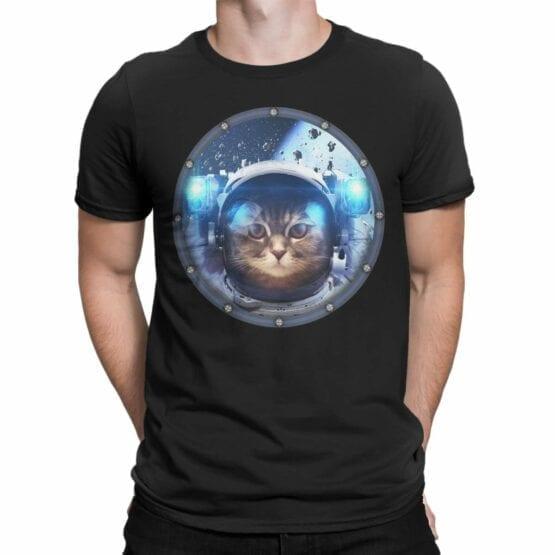 "Cat Shirts ""Space Cat"". T-Shirts"