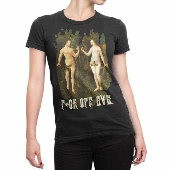 "Funny Shirts ""F*ck Off Eve"". Cool T-Shirts"