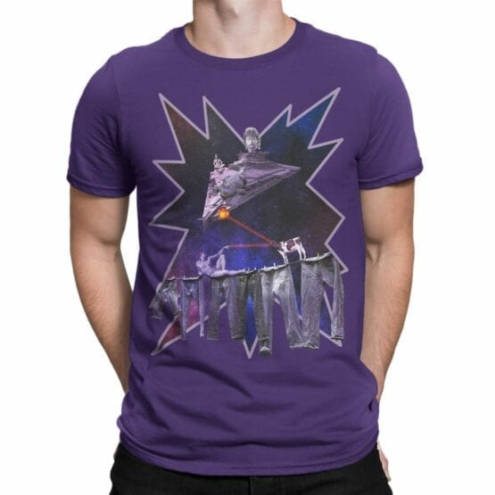 """Crazy Shirts """"Adam vs Chuck"""". Cool T-Shirts"""