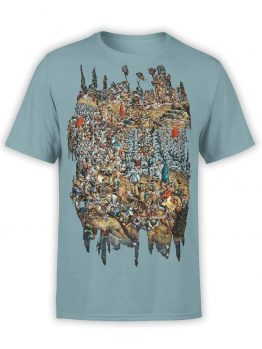 "Funny T-Shirts ""Battle of Orsia"". Mens Shirts."