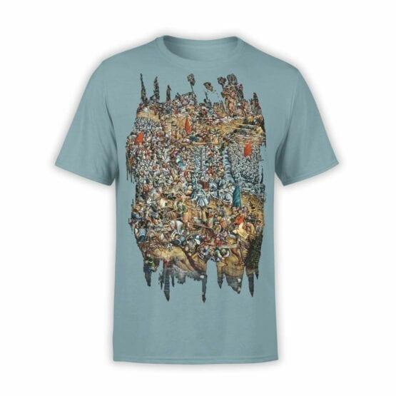 "Funny T-Shirts ""Battle of Orsia"". Mens Shirts."