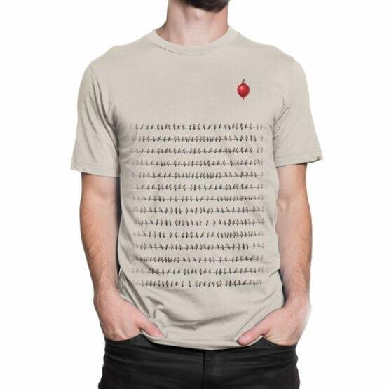 "Cute T-Shirts ""Birds"". Mens Shirts."