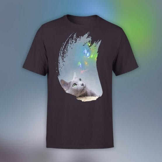 "Cat Shirts ""Thoughts"". Shirts."