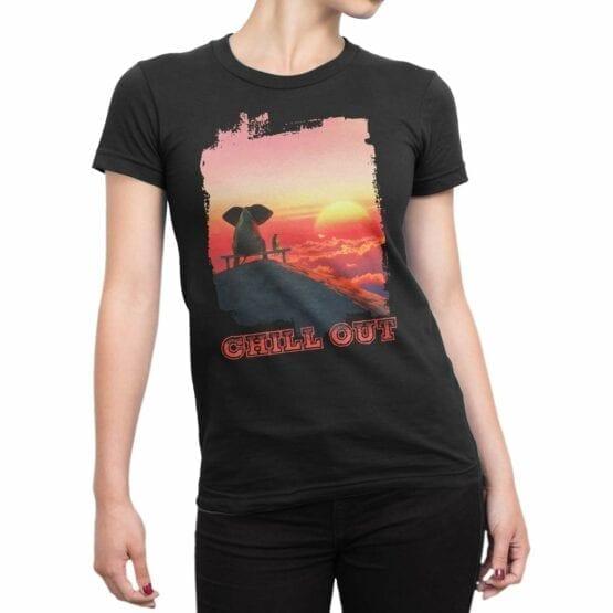 "Cute Shirts ""Chill Out"". Womens Shirts."