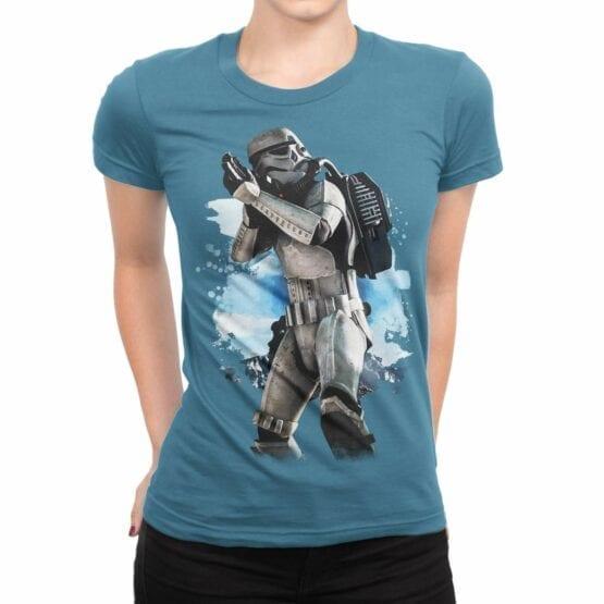 "Star Wars T-Shirt ""Clone"". Womens Shirts."