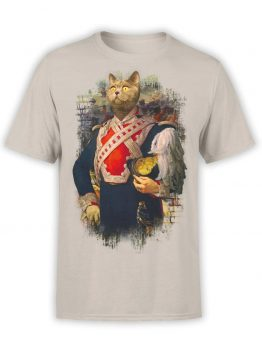 "Cat T-Shirts ""Colonel Du Cat"". Mens Shirts."