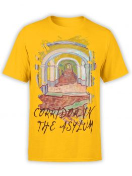 "Van Gogh T-Shirt ""Corridor In The Asylum"". Mens Shirts."