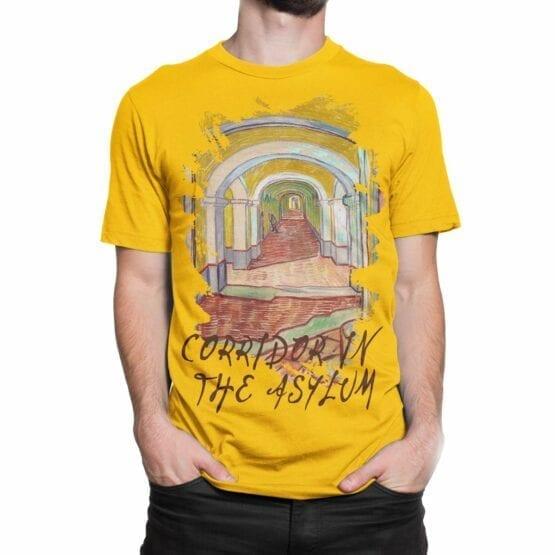 "Van Gogh T-Shirt ""Corridor In The Asylum"". Mens Shirts."