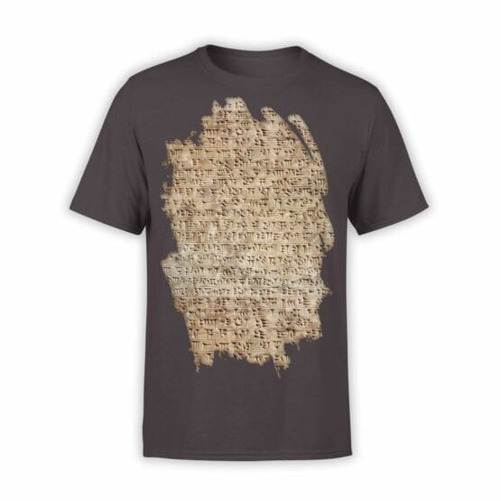 "Archeology T-Shirts ""Cuneiform"". Mens Shirts."