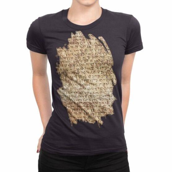 """Archeology T-Shirts """"Cuneiform"""". Womens Shirts."""