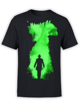 "Indiana Jones T-Shirt ""Danger"". Mens Shirts."