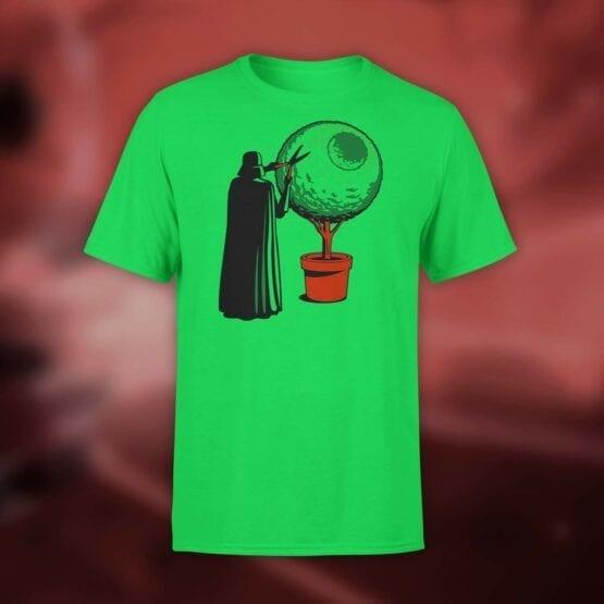 """Star Wars T-Shirt """"Darth Grass"""". Shirts."""