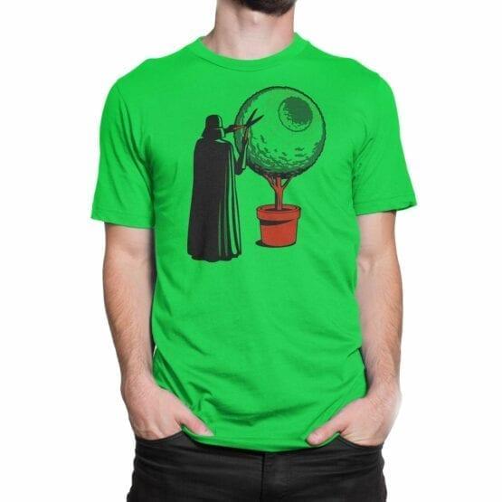 "Star Wars T-Shirt ""Darth Grass"". Mens Shirts."
