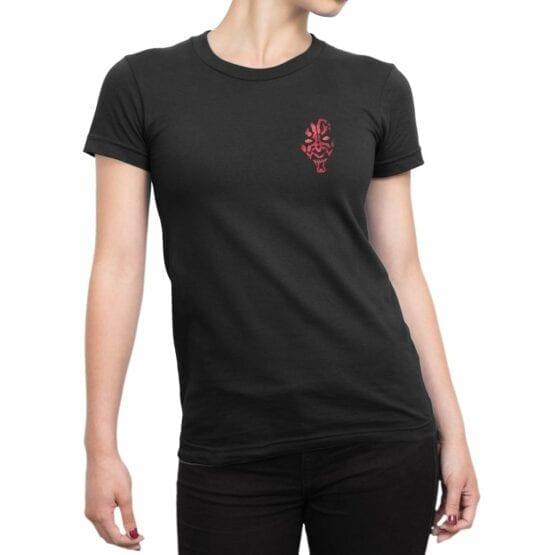 """Star Wars T-Shirt """"Darth Maul"""". Womens Shirts."""