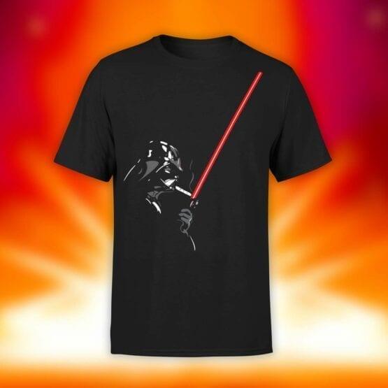 "Star Wars T-Shirt ""Darth Smoke"". Shirts."