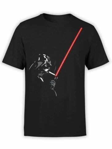 "Star Wars T-Shirt ""Darth Smoke"". Mens Shirts."