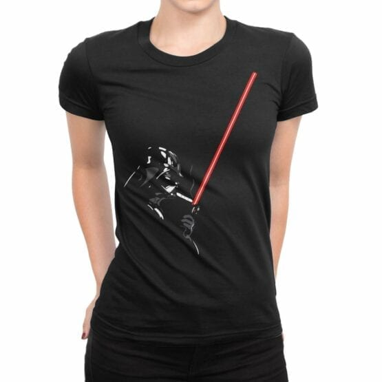 "Star Wars T-Shirt ""Darth Smoke"". Womens Shirts."