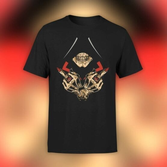 "Cool T-Shirts ""Dead Assassin"". Mens Shirts."