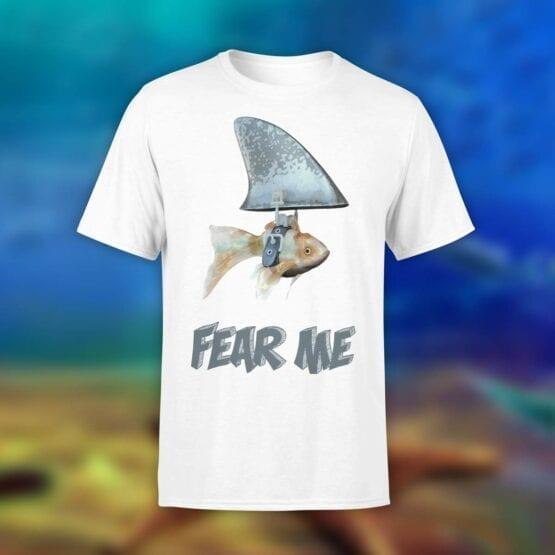 "Funny T-Shirt ""Fear Me"". Shirts."