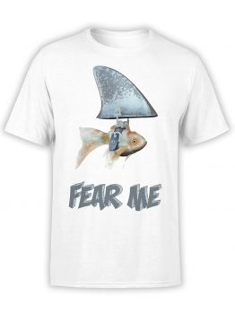 "Funny T-Shirt ""Fear Me"". Mens Shirts."