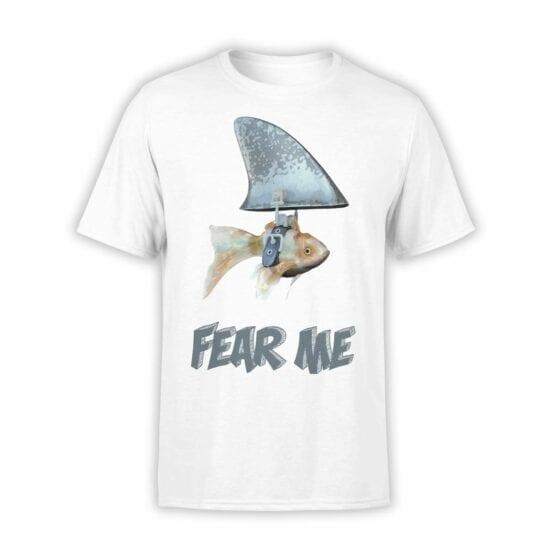 "Funny T-Shirt ""Fear Me"". Mens Shirts."