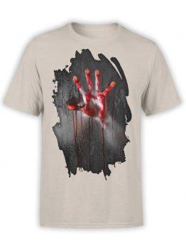 "Horror T-Shirts ""Inside"". Mens Shirts."