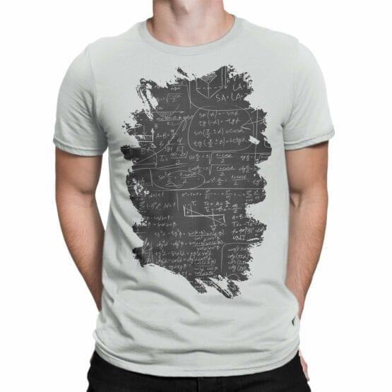"Math T-Shirts ""I Love Math"". Mens Shirts."