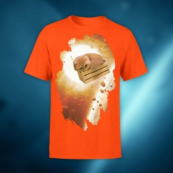 """Cute Shirts """"Kitten in Space"""". Shirts."""