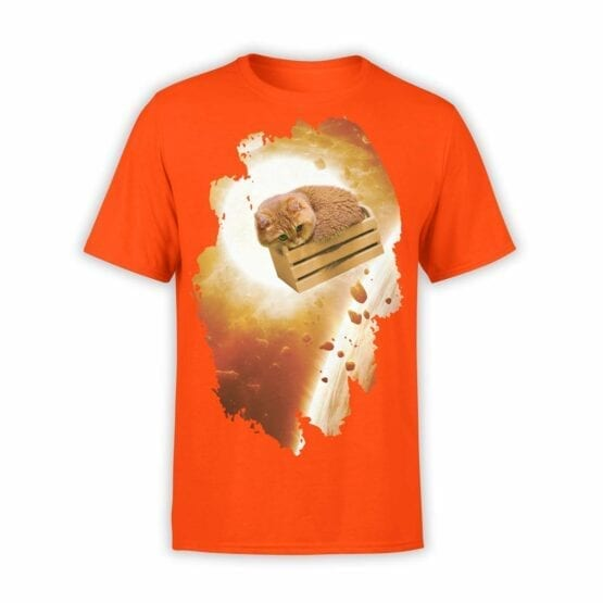 "Cute Shirts ""Kitten in Space"". Mens Shirts."