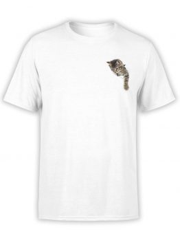 "Cute T-Shirts ""Kitty"". Mens Shirts."