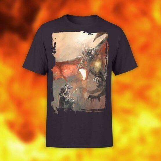 """Dragon T-Shirt """"Knights and Dragons"""". Shirts."""