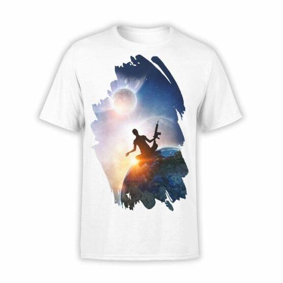 """Meditation T-Shirts """"Guarantee"""". Mens Shirts."""