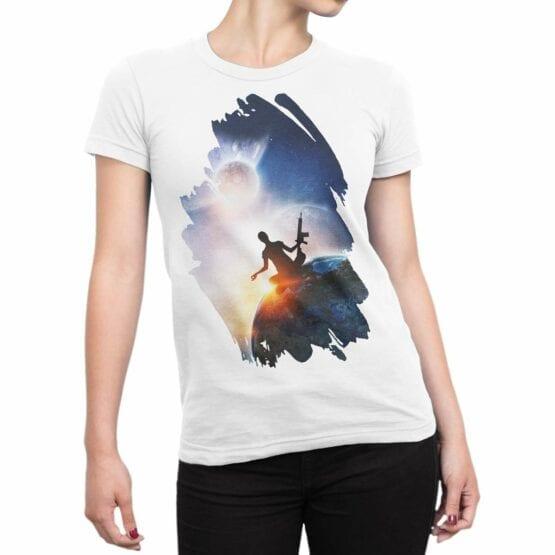"Meditation T-Shirts ""Guarantee"". Womens Shirts."