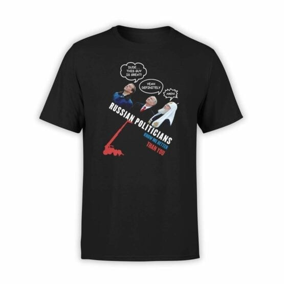 "Funny Shirts ""Russian Politicians"". Mens Shirts."