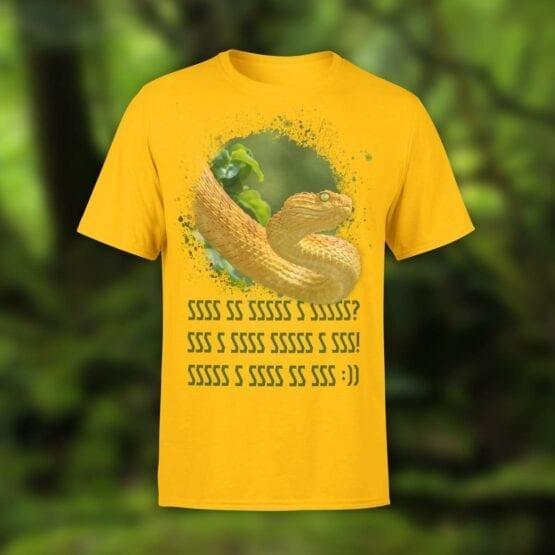 "Funny T-Shirts ""Snake's Story"". Shirts."