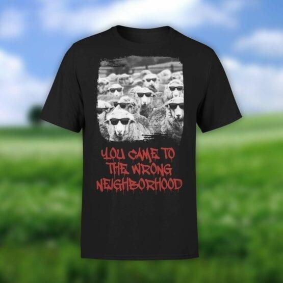 """Funny T-Shirts """"Sheep Gang"""". Shirts."""