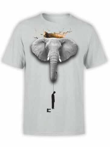 """Cool T-Shirts """"Silence"""". Mens Shirts."""
