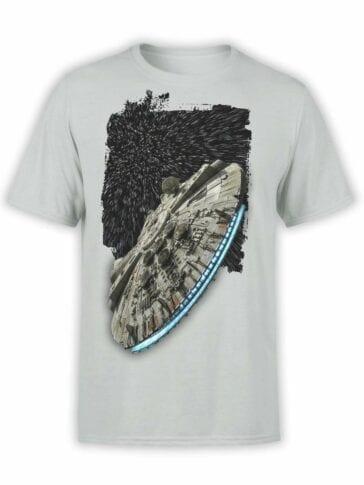 "Star Wars T-Shirt ""SpaceShip"". Mens Shirts."