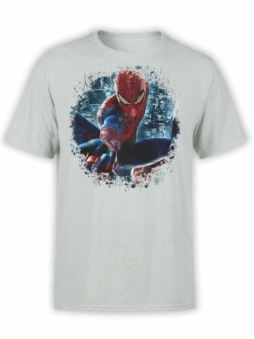 "Spiderman T-Shirt ""City"". Mens Shirts."