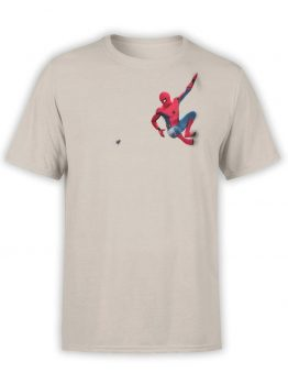 "Spiderman T-Shirt ""Fly"". Mens Shirts."
