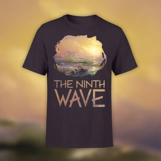 "Art T-Shirts ""Aivazovsky. The Ninth Wave"". Shirts."