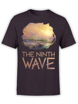 "Art T-Shirts ""Aivazovsky. The Ninth Wave"". Mens Shirts."