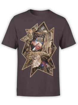 "Funny T-Shirts ""Trump and Owl"". Mens Shirts."