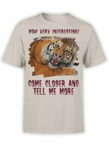 "Funny T-Shirts ""Very Interesting"". Mens Shirts."