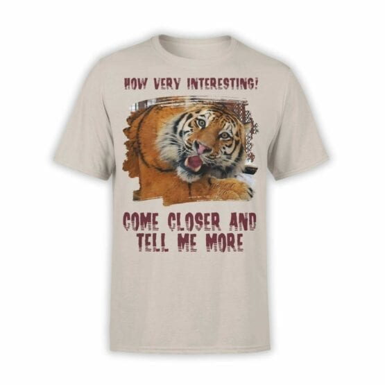 "Funny T-Shirts ""Very Interesting"". Mens Shirts."