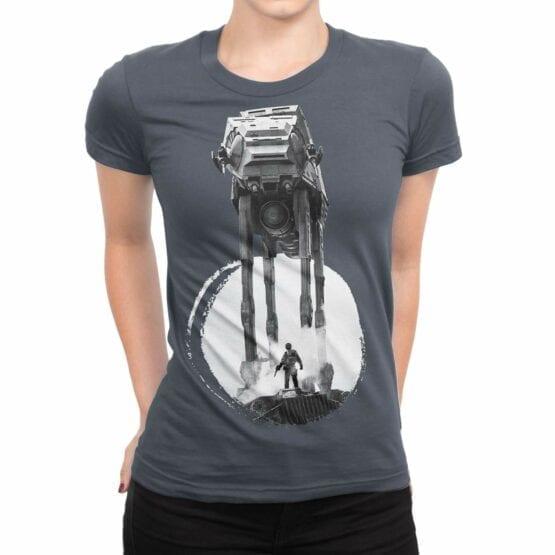 "Star Wars T-Shirt ""Walker"". Womens Shirts."